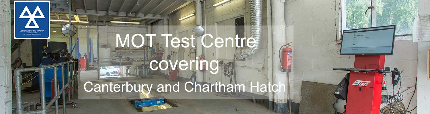 MOT Test Centre covering Canterbury and Chartham Hatch